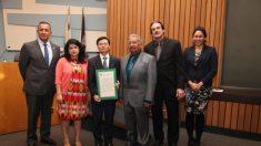 La ciudad de Hawaiian Gardens de California emite una proclamación condenando la sustracción de órganos