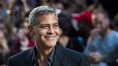 George Clooney felicita a Trump por el progreso en Corea del Norte