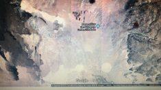 """Encontró una """"extraña nave"""" mientras buscaba base militar de Estados Unidos en Google Maps"""