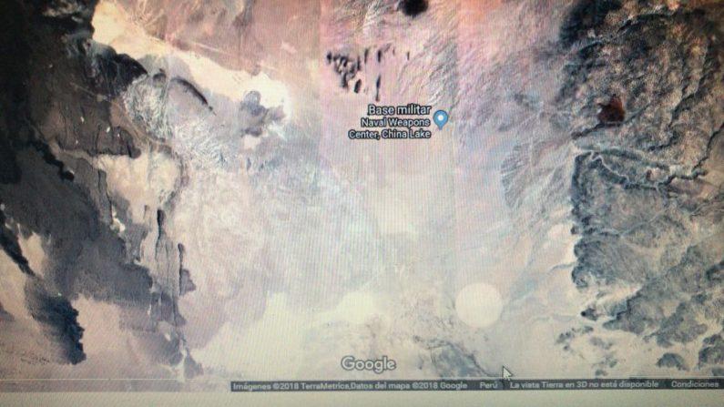 Buscaba base militar de Estados Unidos en Google Maps pero encontró algo mucho más revelador