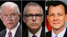 Sessions despide a McCabe por autorizar a oficial anti-Trump del FBI a filtrar a la prensa