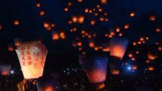El Festival de la Linterna ilumina el cielo de Taiwán