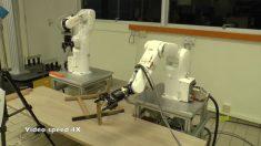 Científicos de Singapur desarrollan robots que ensamblan muebles de IKEA