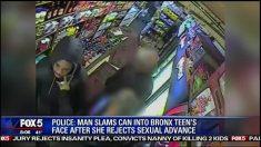 La policía aún busca al hombre que golpeó a una niña con una lata de lasaña en un autoservicio del Bronx