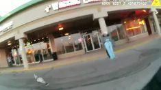 La policía de Cleveland muestra a sus ficiales persiguiendo un pavo salvaje