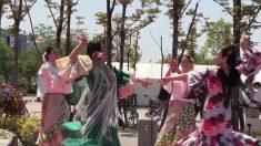 Tokio celebra su propia Feria Española en Tokio con bailaoras y paellas