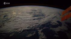 Astronauta muestra imágenes de la Tierra desde la Estación Espacial Internacional