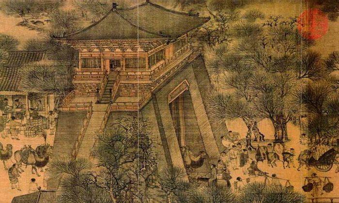 La vida de una antigua ciudad china: 'A lo largo del río durante el Festival Qingming'