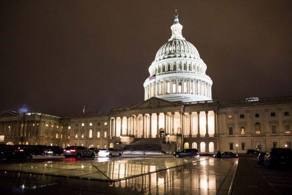 El edificio del Capitolio en Washington, sede del Congreso de Estados Unidos, el 29 de enero de 2018. (Samira Bouaou / La Gran Época)