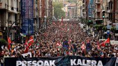Una manifestación pide que se acabe el primer grado para los presos de ETA