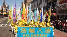 Una pareja de Nueva York recuerda la apelación pacífica del 25 de abril en China