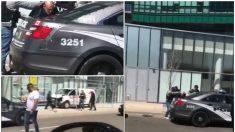 Imágenes del arresto del presunto autor del atropello en Toronto