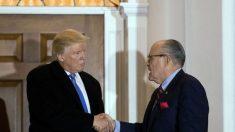 Giuliani se une al equipo legal de Trump, espera terminar la investigación sobre Rusia en 2 semanas