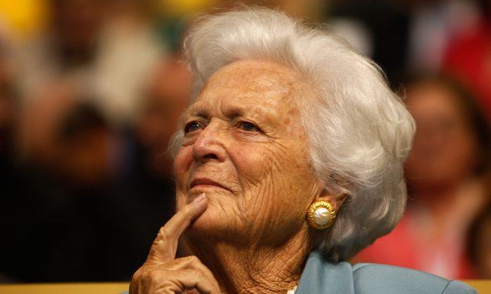 Barbara Bush rechaza someterse a nuevos tratamientos médicos