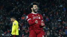 Jugador del Liverpool Mohamed Salah gana sin postularse 1 millón de votos para presidente de Egipto