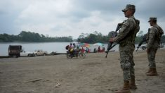 Cientos de ecuatorianos han abandonado sus casas en comunidades fronterizas