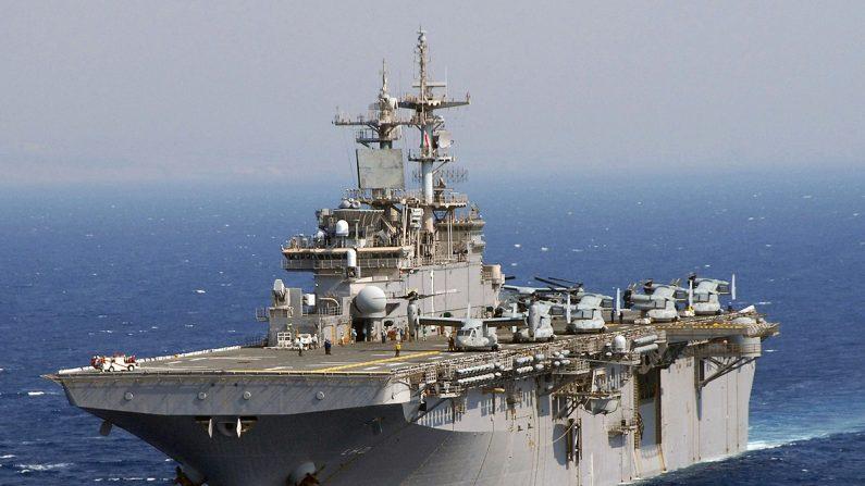 La nave USS Wasp participa en ejercicios conjuntos entre Estados Unidos y Corea del Sur. (Wikimedia)