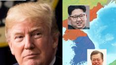 Trump envía su bendición para un final oficial de la Guerra de las Coreas