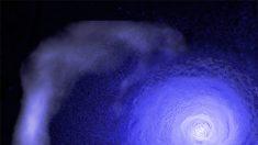 Astrónomos de la NASA descubren un gigantesco vórtice cósmico de frente frío