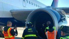 Vuelo de Delta se ve forzado a hacer aterrizaje de emergencia después de golpear a un pájaro