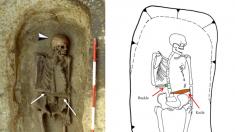 Los restos de un guerrero medieval plantean un crucigrama para los investigadores