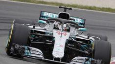 F1. Hamilton marca el ritmo en los últimos entrenamientos libres