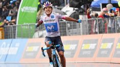 """Carapaz: """"La primera victoria en el World Tour es emocionante"""""""