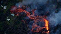 El volcán Kilauea de Hawái vuelve a registrar una erupción explosiva