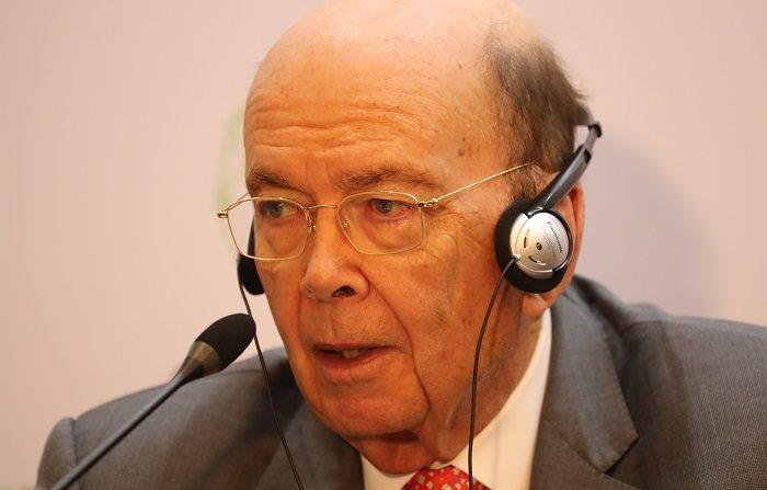 Para EEUU, los aranceles a la UE no son razón para suspender la negociación El secretario de Comercio de los Estados Unidos, Wilbur Ross. EFE/Archivo