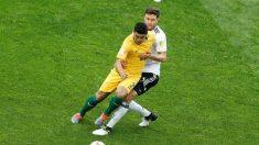 Australia puede aprovechar que rivales la vean débil para llegar a octavos en Mundial: Luongo