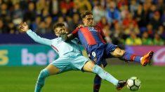 Barcelona pierde racha invicta, cae 5-4 ante Levante en partido sin argentino Messi