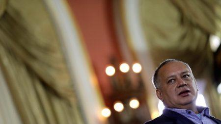 EEUU impone sanciones por narcotráfico a jerarca venezolano Diosdado Cabello