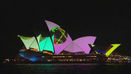 Sidney se transforma en luces y colores con el Festival Anual Vivid