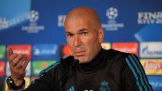 Zidane dice que el Madrid no es favorito y debe aprovechar oportunidad única en Liga Campeones