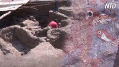 Sala de 1.700 años fue encontrada en Perú. Expertos creen que fue usada para ceremonias políticas