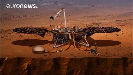 Misión de la NASA se prepara para descubrir el interior de Marte