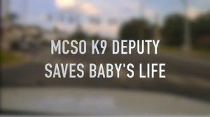 Policía resuelve angustiosos momentos y salva bebé de tres meses en Florida