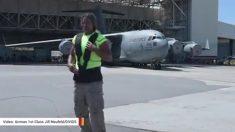 Observa como el forzudo Mark Kirsch tira un avión C-17