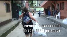 Evacúan a casi 5000 personas en Colombia por temor a que se rompa la represa hidroeléctrica