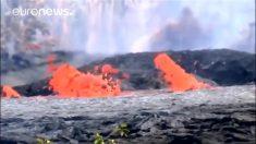 Lava del volcán Kilauea llega al océano: Hawái eleva su alerta