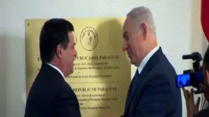 Cartes y Netanyahu festejan inauguración de la embajada de Paraguay en Jerusalén