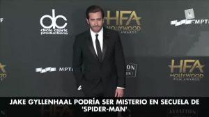 Jake Gyllenhaal sería el perverso Misterio en el próximo 'Spider Man'