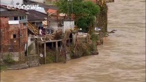 25.000 evacuados ante amenaza de que una presa colapse en Colombia