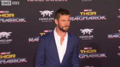 Chris Hemsworth muestra un nuevo talento bailando Wrecking Ball