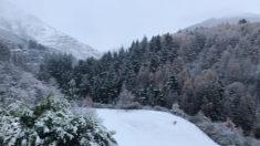 Nueva Zelanda amanece en medio de un verdadero paraíso invernal