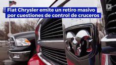 Fiat Chrysler ordena el retiro de 4,8 millones de vehículos