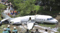 Se accidenta un jet ejecutivo de EEUU en el aeropuerto de capital hondureña