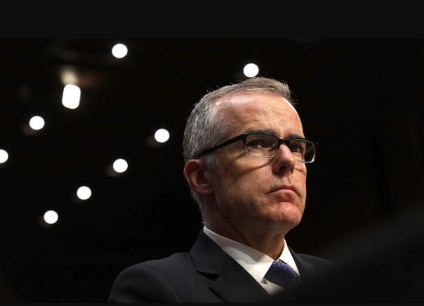 El Director en funciones del FBI, Andrew McCabe, testifica ante el Comité de Inteligencia del Senado el 11 de mayo de 2017. (Alex Wong / Getty Images)