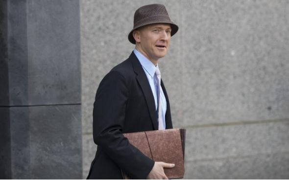 Carter Page en la ciudad de Nueva York el 16 de abril de 2018. (Drew Angerer / Getty Images)