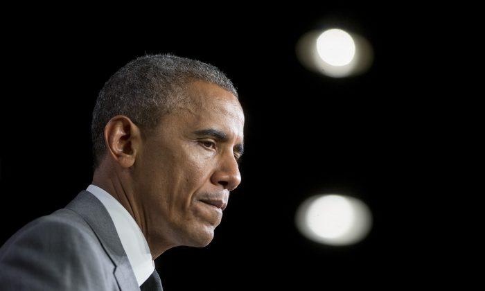 El presidente Barack Obama en el Departamento de Vivienda y Desarrollo Urbano en Washington, el 31 de julio de 2014. (Andrew Harrer-Pool/Getty Images)